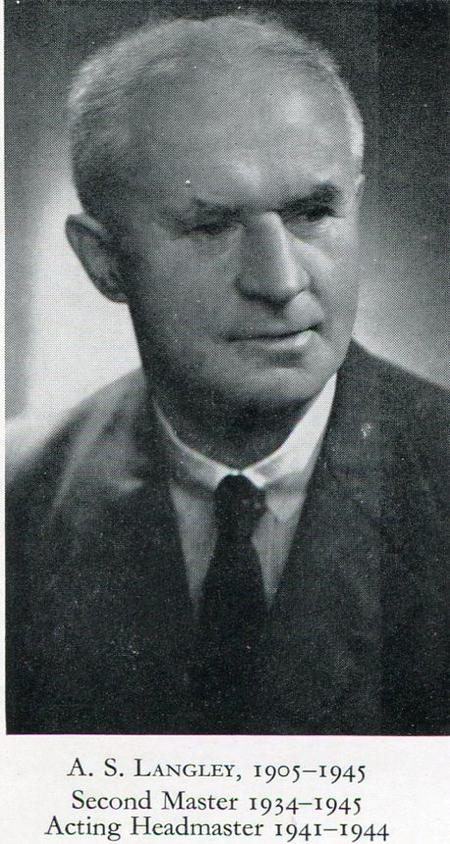 Profile picture for Arthur Sydney Langley
