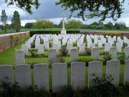 Red Cross Corner Cemetery, Beugny, Pas de Calais 1
