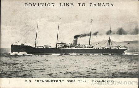 SS Kensington