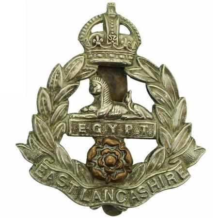 East Lancashire Regiment cap badge