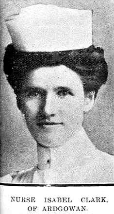 Staff Nurse Isabel Clark 22/108