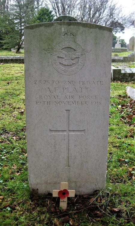 Profile picture for Alfred Frank Platt