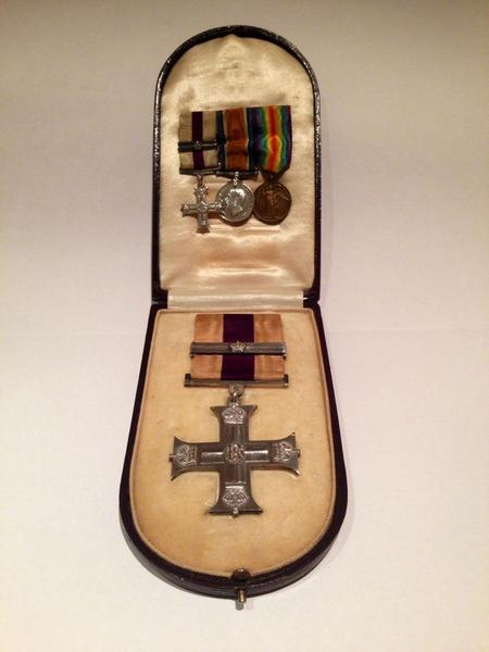 Captain Walford's medals