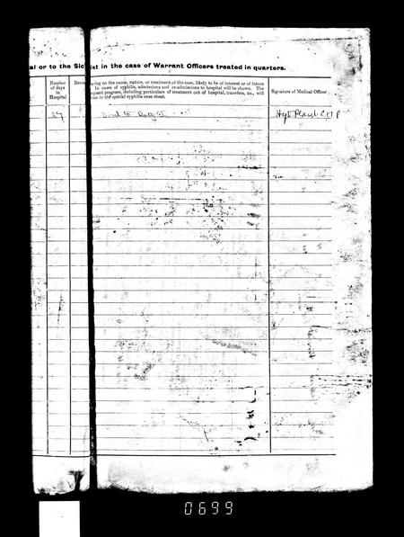 WW1 Service Record Page 6