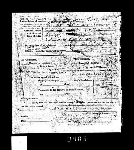 WW1 Service Record Page 11