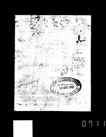 WW1 Service Record Page 17