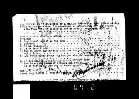 WW1 Service Record Page 18