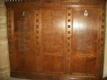 Gomersal St. Mary's Church War Memorial
