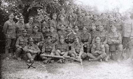 Platoon, 6th Btn, Royal Berkshire Regiment, 1917.