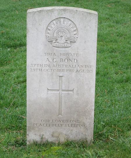 Profile picture for Albert George Bond