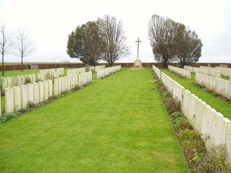Pernes British Cemetery, Pas de Calais, France 2