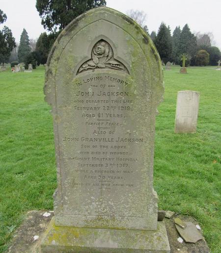 Profile picture for John Granville Jackson