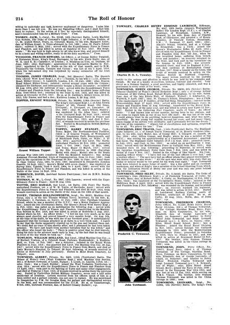 De Ruvigny's roll of honour 1914-1918