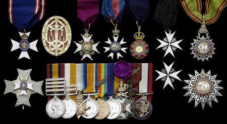 Worthington's Medals