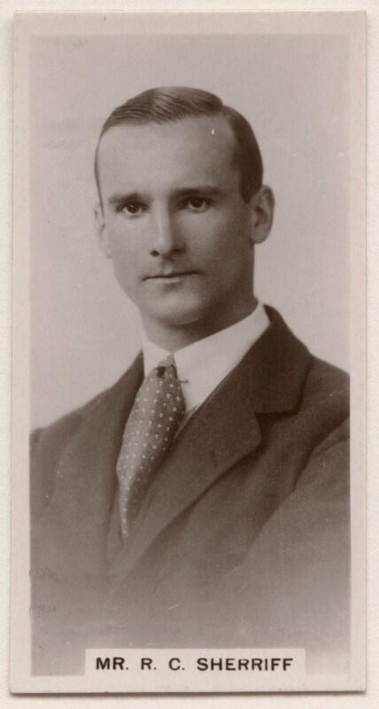 Portrait photograph of R C Sherriff