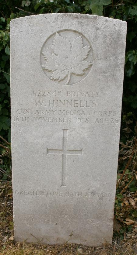 Profile picture for William Hinnells
