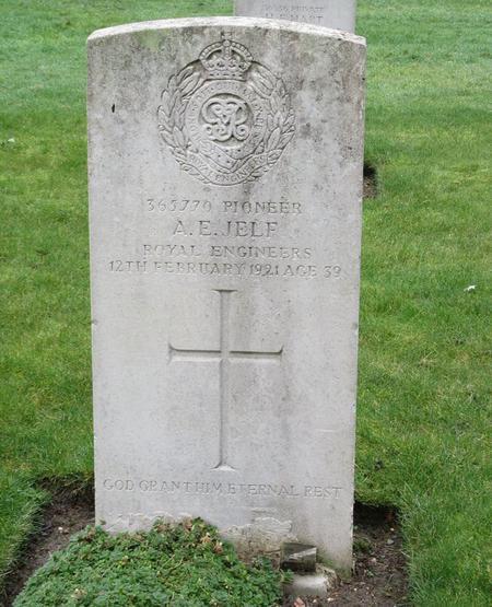 Profile picture for Albert Ernest Jelf
