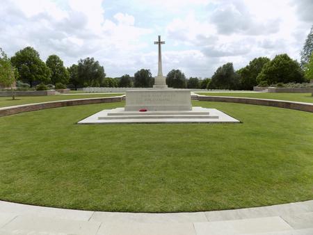 Hooge Crater Cemetery, West-Vlaanderen, Belgium 2