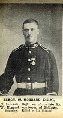 Sgt W Hoggard DCM