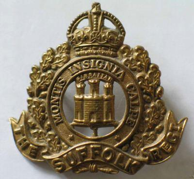 Suffolk Regiment Cap Badge