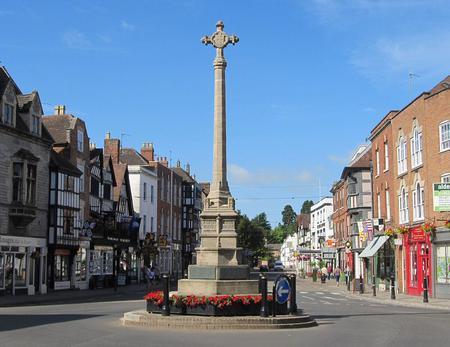 War Memorial in Tewkesbury