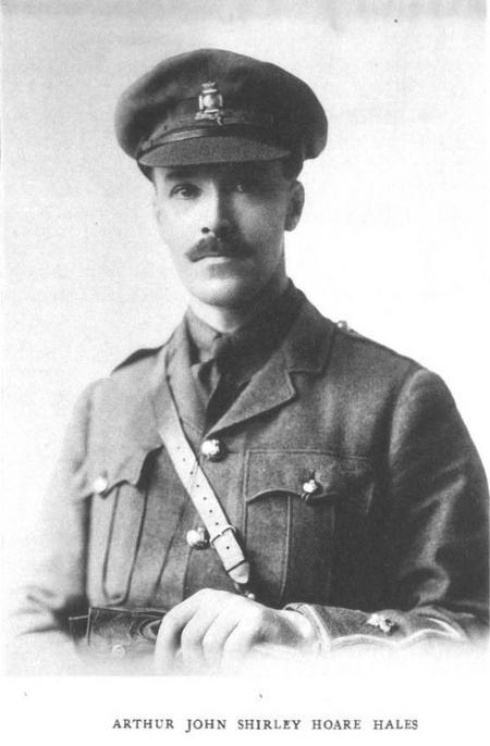 Profile picture for Arthur John Shirley Hoare Hales