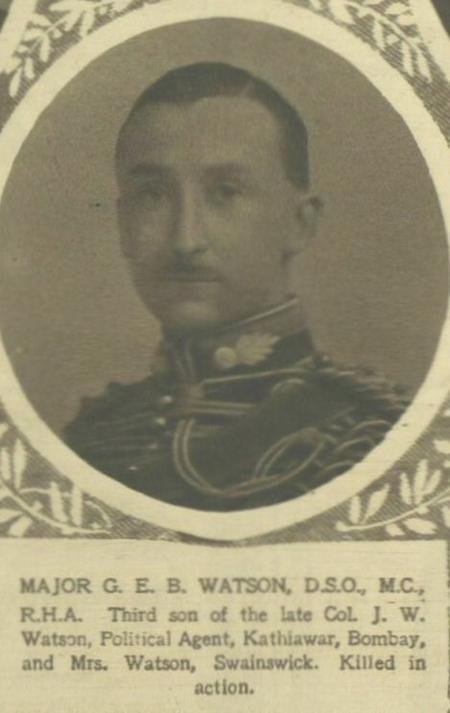 Profile picture for George Edmund Borlase Watson