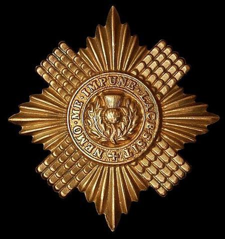 Scots Guards Cap Badge