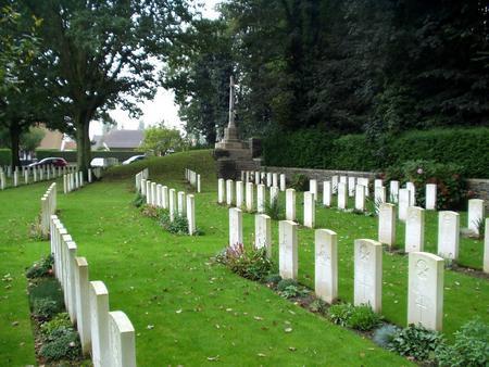 Gorre British and Indian Cemetery, Pas de Calais 1