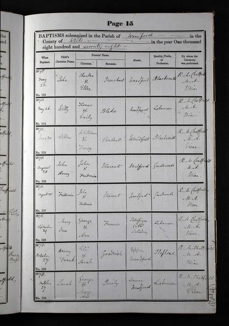 Baptism Record