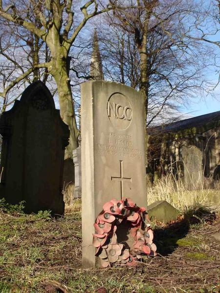 Gravestone of Lawrence Jessop