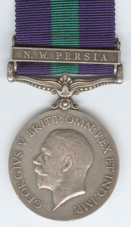 General Service Medal and Clasp