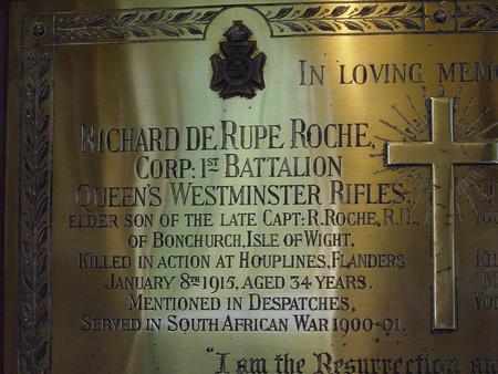 Profile picture for Richard De Rupe Roche