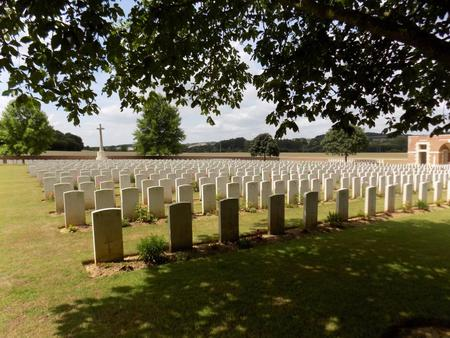 Heilly Station Cemetery, Mericourt-L'Abbe, Somme 1