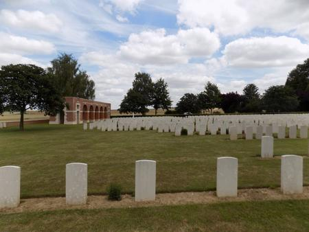 Heilly Station Cemetery, Mericourt-L'Abbe, Somme 3