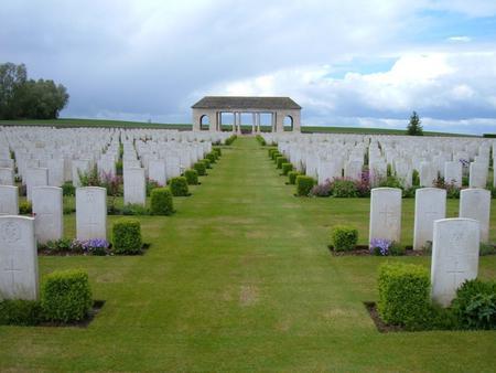 Guards Cemetery, Lesbouefs, France 1