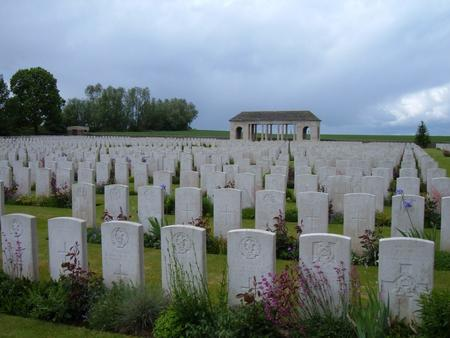 Guards Cemetery, Lesbouefs, France 2