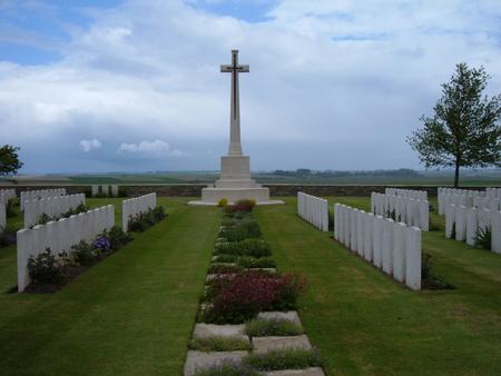 Guards Cemetery, Lesbouefs, France 3