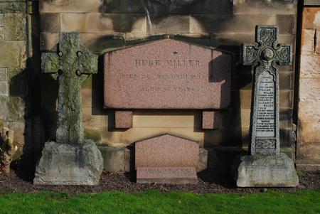 Norman Mackay's tombstone - Grange Cemetery, Edinb