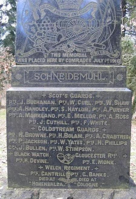 Schneidemühl Monument