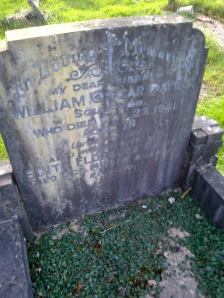 Family Gravestone, Penyrheol Cemetery, Wales
