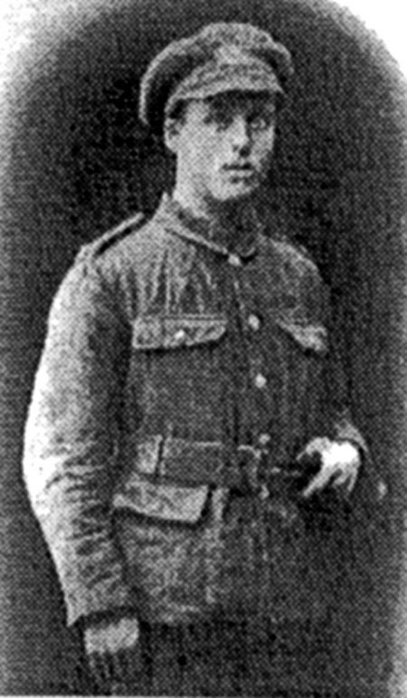 Private Fred Clapham 1/5th Leicesters