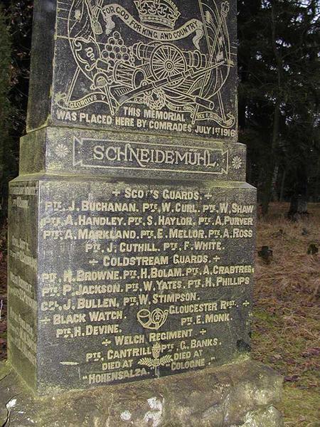 Schneideműhl Memorial (Front)
