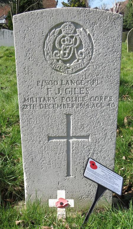 Profile picture for Frederick John Giles