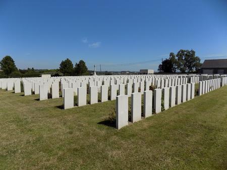 Zantvoorde British Cemetery, West-Vlaanderen - 1