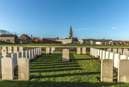 Zantvoorde British Cemetery, West-Vlaanderen - 3