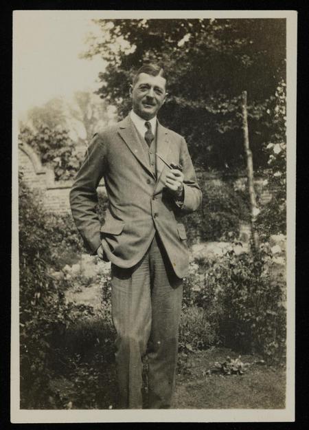 Picture of L.E.O Charlton, taken circa 1922