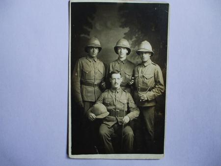 Lance Corporal Andrew Bowen seated 1914