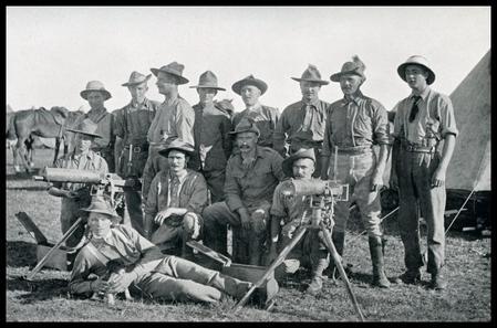 Northumberland Hussars Maxim Guns