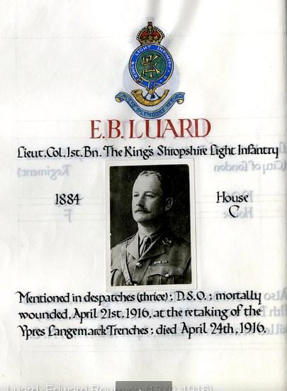 Profile picture for Edward Bourryan Luard
